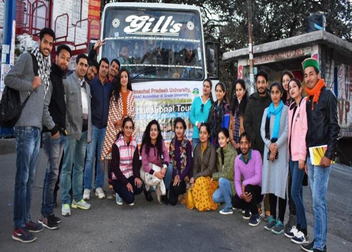 education tour 2018 poltical department