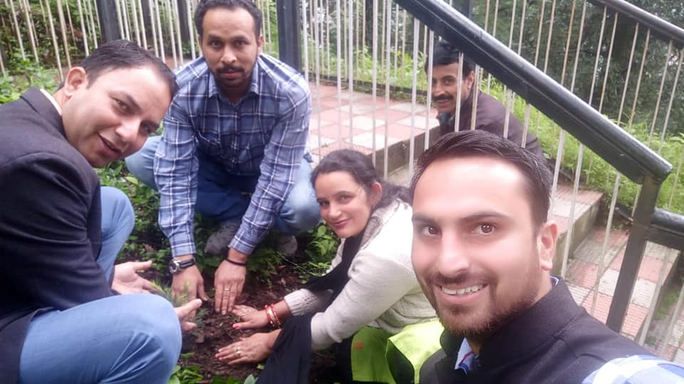 Plantation campaign at UCBS
