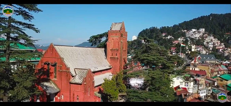 HPUDES Campus The Mall Shimla-1