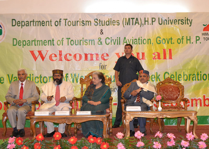 MASTER OF TOURISM ADMINISTRATION | H.P. UNIVERSITY | SHIMLA